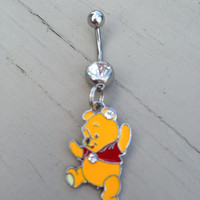Winnie the Pooh Belly Ring