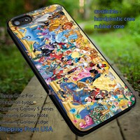 Which Disney Character Are You iPhone 5 5c 6 6+ 6s 6s+ Case Samsung Galaxy S4 S5 S6 Edge+ Cover NOTE 5 4 3 2 #cartoon #disney ii