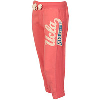 UCLA Peach Womens Horton Cropped Jog Pants