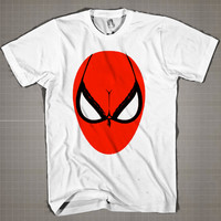 Spiderman Bra Eyes Parody  Mens and Women T-Shirt Available Color Black And White