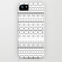 Gray Aztec iPhone & iPod Case by Ornaart