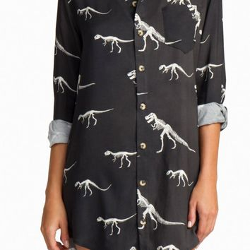 BOYS + ARROWS | It's Not You, It's Me Shirt Dress - Primal