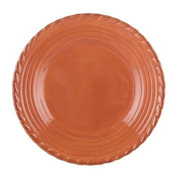 Artimino Tuscan Countryside Rope-Edged Stoneware Dinner Plate | Dillards