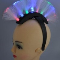 LED Mohawk Headband