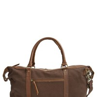 Men's United By Blue 'Trafford' Duffel Bag - Brown