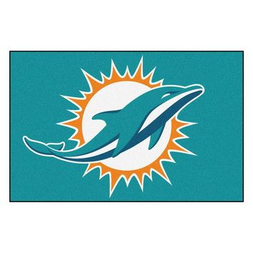 FANMATS NFL Miami Dolphins Starter Mat NEW!