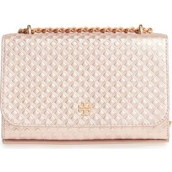 Tory Burch Marion Embossed Leather Crossbody Bag | Nordstrom