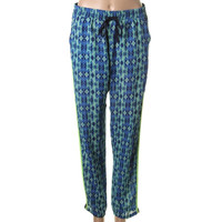 Romeo & Juliet Couture Womens Textured Printed Lounge Pants