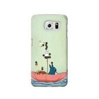 P1062 My Neighbor Totoro Phone Case For Samsung Galaxy S6 edge