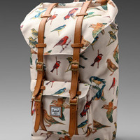 Herschel Supply Co. Bad Hills Workshop Little America in Watercolored Bird Print from REVOLVEclothing.com