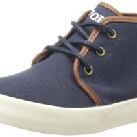 Polo Ralph Lauren Kids Ethan Mid Lace-Up Sneaker (Toddler/Little Kid/Big Kid),Navy,9 M US Toddler