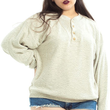 Vintage 90's Well That's Just Grey-t Pullover - XL