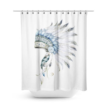 Little Chief Shower Curtain