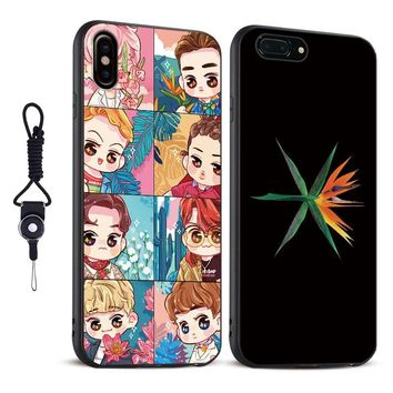 EXO KO KO BOP Kpop Boy group fashion TPU soft silicone Phone Case cover shell For Apple iPhone 5 5s Se 6 6s 7 8 Plus X XR XS MAX