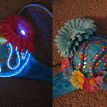 Light Up Rave Bra // Create YOUR own CUSTOM DESIGN :D
