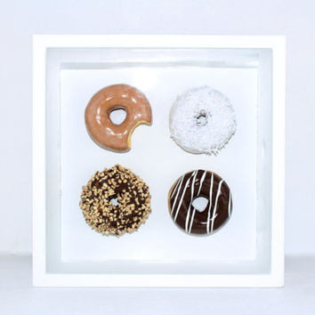 3D Donut Pop Art Sculpture