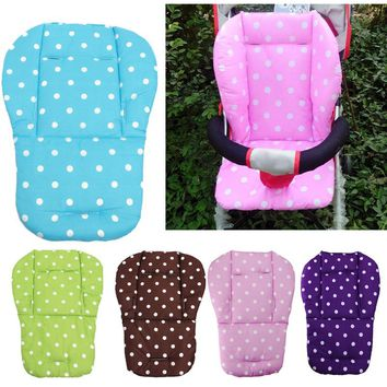 2016 New Thick Colorful Baby Infant Stroller Car Seat Pushchair Cushion Cotton  Mat Lovely Cute Design Baby Seat Cushions