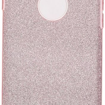 iPhone 6S Case, iPhone 6 Case, Milprox SHINY GLITTER CASE [Bling Crystal Clear][Extremely Sparkly], Slim Premium 3 Layer Hybrid, Anti-Slick/ Protective/ Soft Case- 4.7 Pink