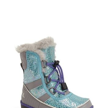 Girl's SOREL 'Tivoli II' Waterproof Snow Boot,