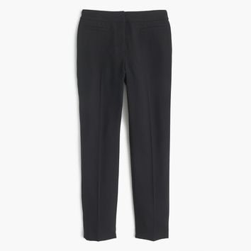 French girl slim crop pant in lucky crepe