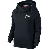 Nike Women's Rally Funnel Neck Pullover Hoodie