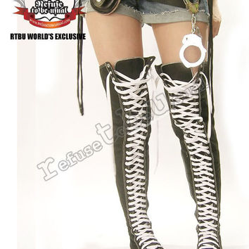 15354cfed011 RTBU ROCK GOTHIC CYBER THIGH-HI boots US from runnickyruneBay on
