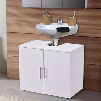 Non Pedestal Under Sink Bathroom Storage Vanity Cabinet