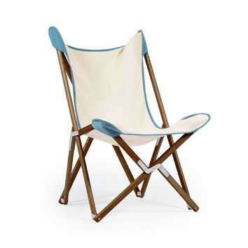 Novecento Dark Wood Tripolina Chair