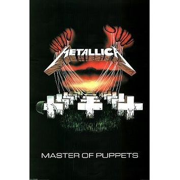 METALLICA POSTER Master of Puppets RARE NEW HOT 24X36