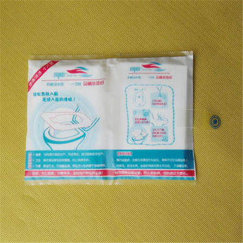 New Useful 1 Pack 10Pcs Disposable Covers Paper Toilet Seat Covers new arrival