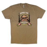 Support Our Maryland Troops / Shirt