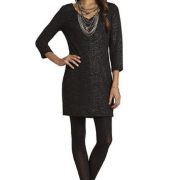 Low-Back Body-Con Dress in Black - BCBGeneration