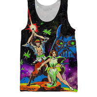Star Wars Comic Tank Top