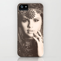 Selena Gomez iPhone & iPod Case by STATE OF GRACCE