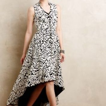 Acanthus Dress by Pankaj & Nidhi Black Motif