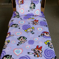 Powerpuff Girls Flat Twin Sheet