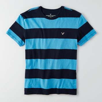 AEO STRIPED CREW T-SHIRT
