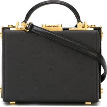 Mcm Studded Box Cross Body Bag - Leam - Farfetch.com