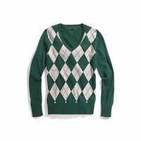 ARGYLE V-NECK SWEATER | Tommy Hilfiger USA