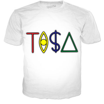 White TISA T-shirt
