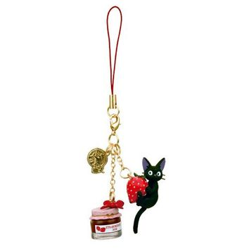Kiki's Delivery Service Strawberry Jiji Charm