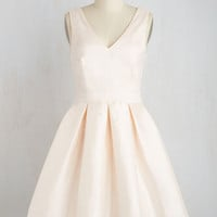 My Gift to You Dress in Blush | Mod Retro Vintage Dresses | ModCloth.com