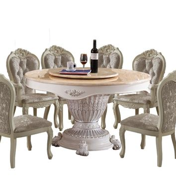 2018 Oak Furniture Meuble Dining Table Sets living room tables Free
