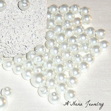 Swarovski Pearls White 20 Count (Plus 10 Free) Total 30 6mm