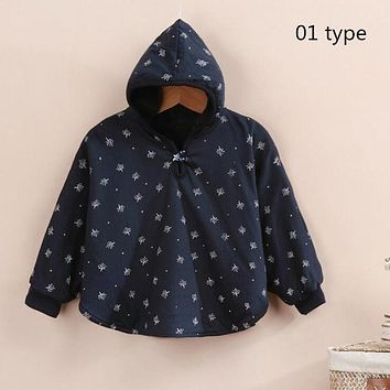 Hot Sale Fashion Combi Baby Coats boys Girl's Smocks Outwear Fleece cloak Jumpers mantle Children's clothing Poncho Cape