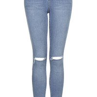 MOTO Salt and Pepper Leigh Jeans - Blue