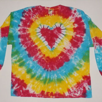 3XL Tie Dye - Custom Long Sleeve - Choose ANY Design & ANY Colors
