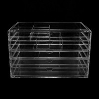 Acrylic Makeup, Cosmetic & Jewelry Organizer #5S