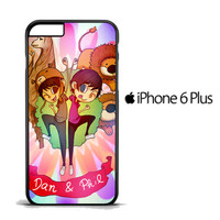 Dan and Phil vector Z1035 iPhone 6 Plus Case