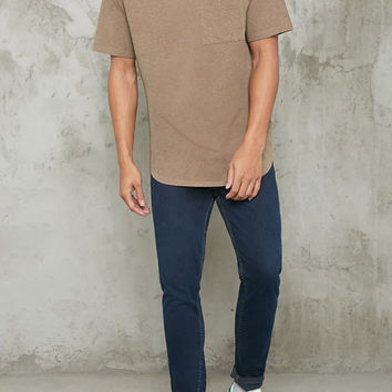 Speckled Pocket Tee